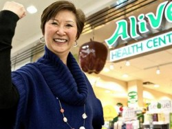 Alice Chung Founder and Owner of Alive Health Centre, Morning Sun and Supplements Plus