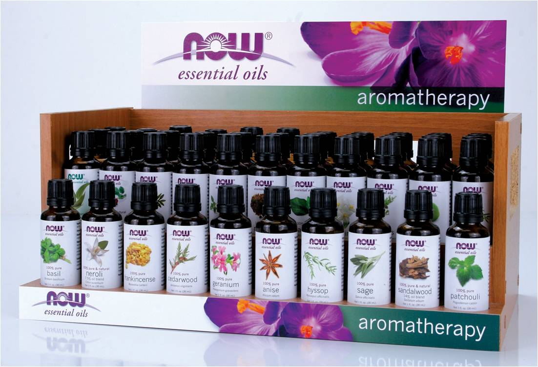 Now aromatherapy essential oils