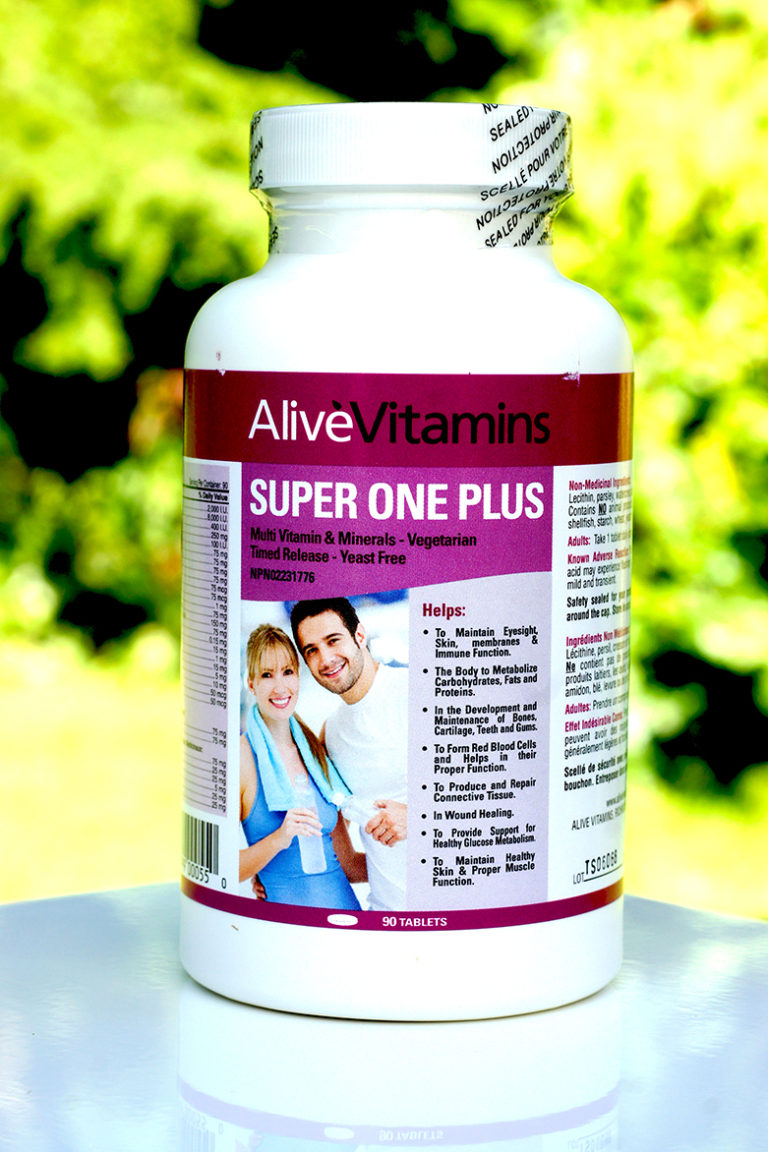 The All In One High Potency Multivitamin – Alive Vitamins Super One Plus!