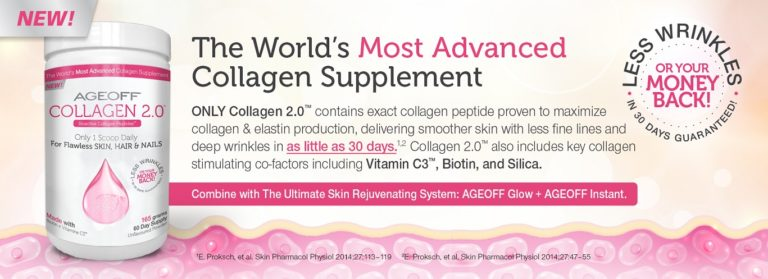 NuvoCare – AGEOFF Collagen 2.0 Flawless Skin, Hair and Nails