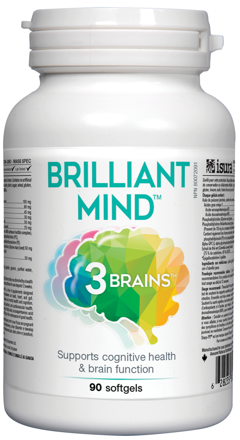 Brilliant Mind by 3 Brains – Think Clearly & Be Focused