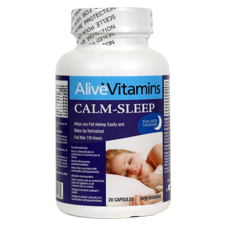 Sleep Easy Tonight with Alive Vitamins Calm Sleep