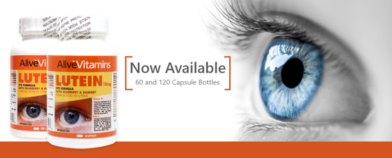 Alive Vitamins FloraGLO®Lutein 18 mg – Superior Eye Formula