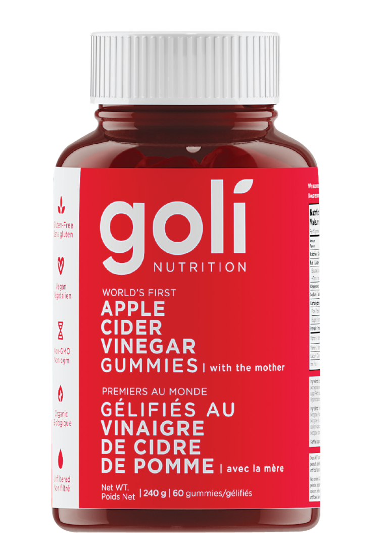 Goli Apple Cider Vinegar – As Seen on Ellen!