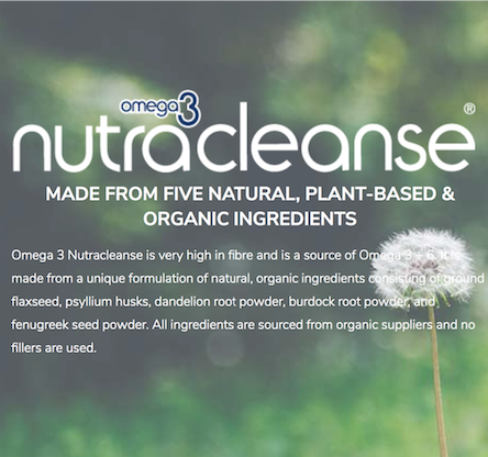 Nutracleanse omega 3 organic alive health centre blog