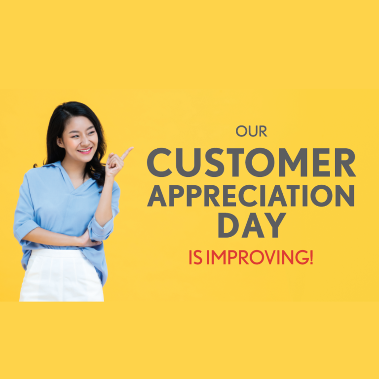 Customer Appreciation Day Updates