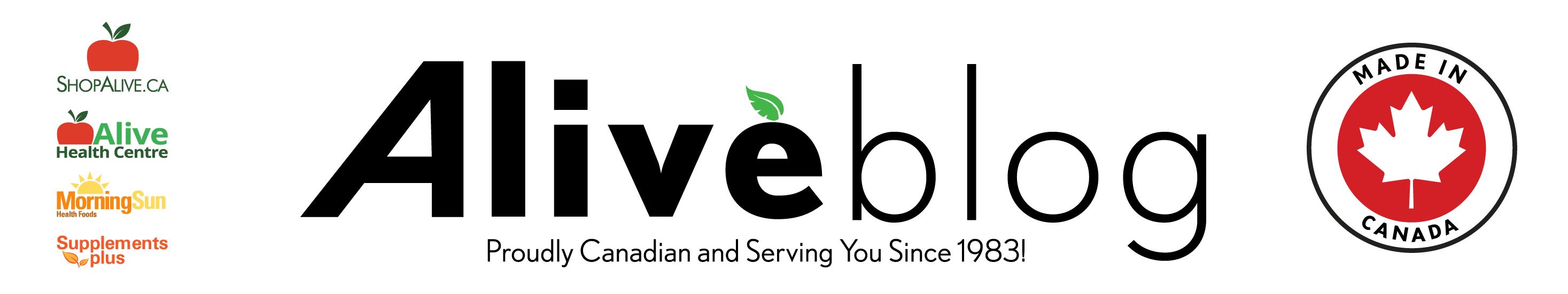 Alive Blog Logo Alive Health Centre Morning Sun Supplements Plus
