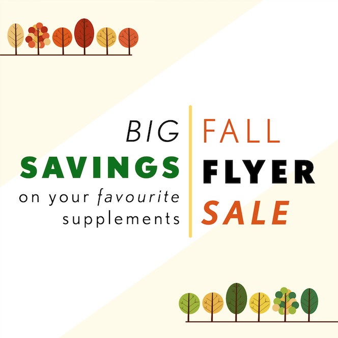Alive, Morning Sun and Supplements Plus Annual FALL Flyer – Our Lowest Prices of the Season