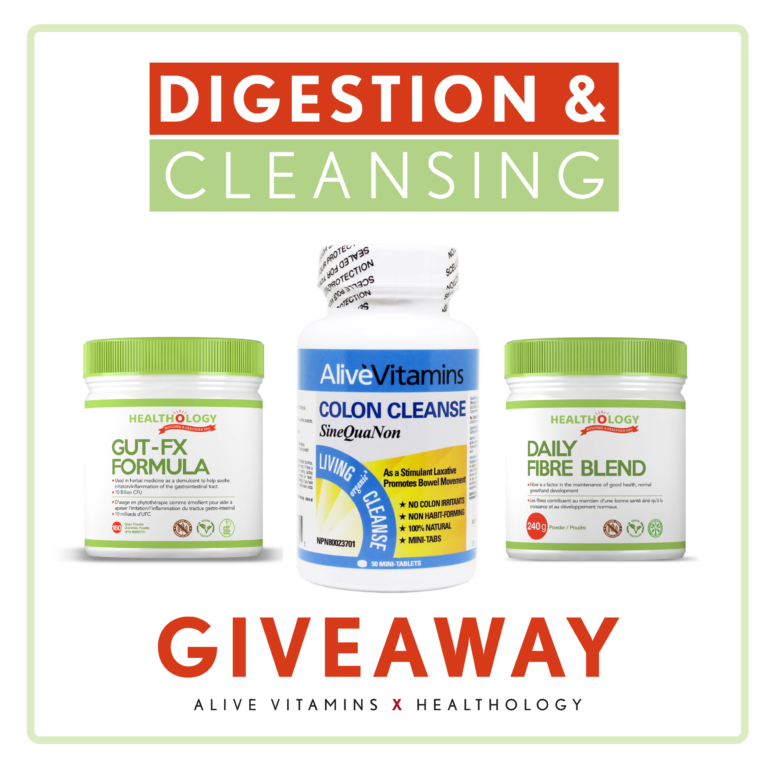 1 Day Left to Enter our Digestion & Cleansing GIVEAWAY!