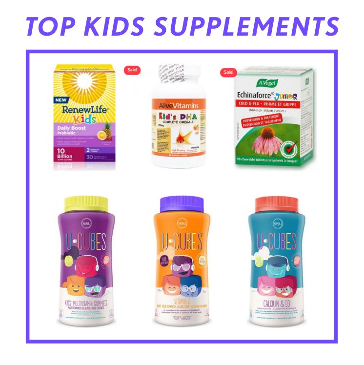 Kids Supplements – 3 & Done